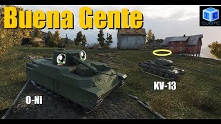 World Of Tanks Español: Buena gente (O-Ni & KV-13)