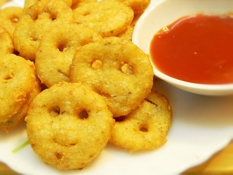 Xxx Mp4 How To Make Potato Smiley Potato Smiley Recipe Kids Snack Tiffin Recipe By Khana Manpasand 3gp Sex