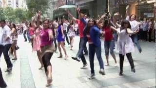 Kolaveri Di Sydney Flash Mob - 10th Feb 2012 Pitt St Mall - Official HD Video