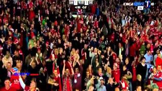 هدف مباراة الدنمارك 1-0 السويد مباراة ودية  (2014/5/28)