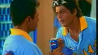Sachin and SRK in old Pepsi Commercial