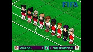 | Arsenal 3 - 1 Northampton | Jornada 2 | FIFA v8