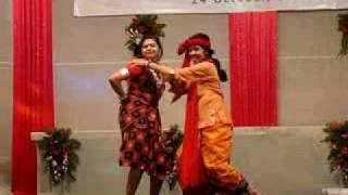 Ekda Ekda dance, silver jubilee,24-10-08, IIPM-SOM.MPG