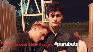 Shadowhunters cast // Dom Sherwood & Matt Daddario (Sherdario): #parabatai