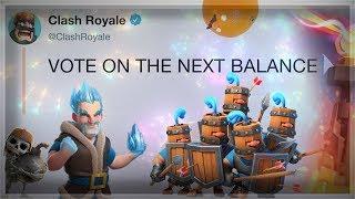 VOTE for Balances! | Ramp Up/Double/Triple Elixir Challenge Deck | Clash Royale 🍊