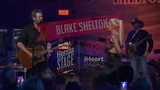 Blake Shelton - Go Ahead and Break My Heart (Live on the Honda Stage at the iHeartRadio Theater LA)