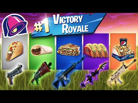 Taco Bell HELPS ME Win A Game of Fortnite YOU LL NEVER BELIEVE WHAT HAPPENED WELL THEY TRIED