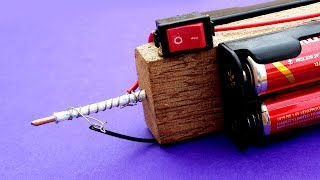 How to Make a Battery Powered Mini Soldering Iron - DIY