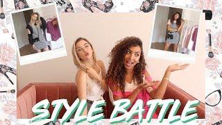 STYLE BATTLE MET LYNN *jurkje // Larissa Bruin - EXTRA VIDEO