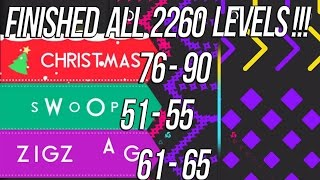 Color Switch Christmas Swoop Zigzag 25 New Levels