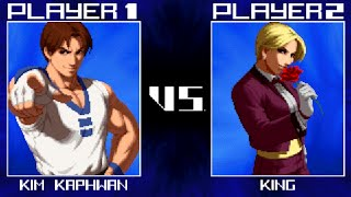 kof 2016 gameplay mugen the king of fighters