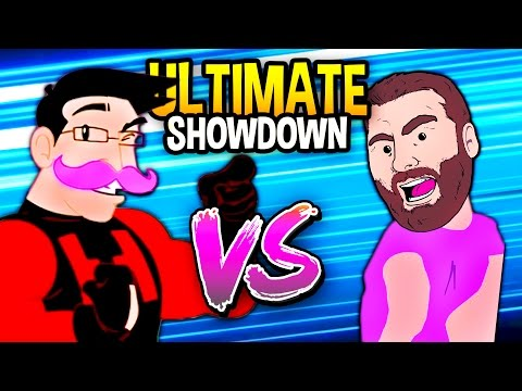 PEWDIEPIE VS MARKIPLIER ULTIMATE SHOWDOWN Speedrunners Funny Moments