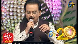 SP Balasubramaniam Performs - Ee Manase Song in ETV @ 20 Years Celebrations - 2nd August 2015