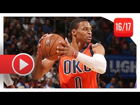 Russell Westbrook Full Highlights vs Lakers (2016.10.30) - 33 Pts, 16 Ast, 12 Reb (Lakers Feed)