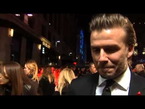 Beckham turns out for The Class of 92 premiere