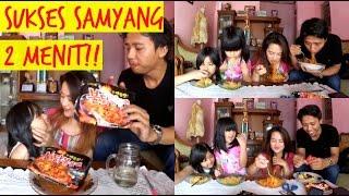 #3 MUKBANG - LOMBA CEPET MAKAN SAMYANG   Samyang Challenge (Indonesia)