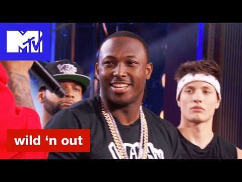 LeSean McCoy Battles Nick Cannon & the Red Squad | Wild 'N Out | #Wildstyle