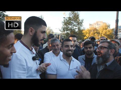 Xxx Mp4 P2 Nice Shot Ali Dawah Vs Jewish Visitor Avi Yemeni Speakers Corner Hyde Park 3gp Sex
