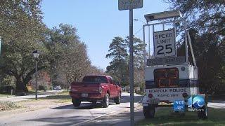 Speeding problems plague Norfolk neighborhood