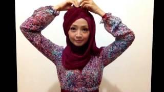 Tutorial Hijab Pesta atau Wisuda | Style Hijab Layer 2 Warna | # 1 2016