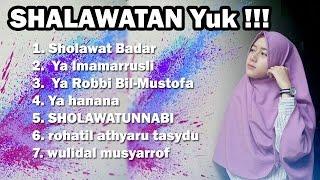 FULL Shalawat Cewek Cantik Hijab, Suara Merdu - CITRA