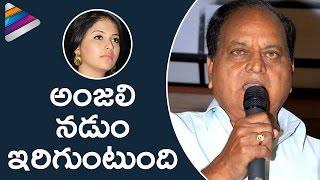 Chalapathi Rao Insane Comments on Heroine Anjali | Chalapathi Rao Controversy | Telugu Filmnagar