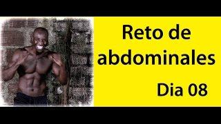ABDOMINALES EN 30 DIAS ( RETO DIA 08)
