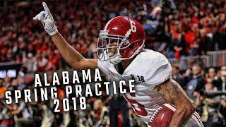 Alabama Spring Practice 2018 Trailer