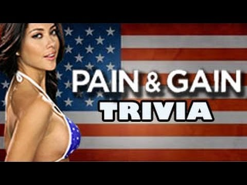 FilmStrip Pain and Gain Trivia with Arianny Celeste