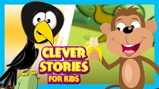 CLEVER STORIES FOR KIDS - English Moral Stories | Stories For Kids In English