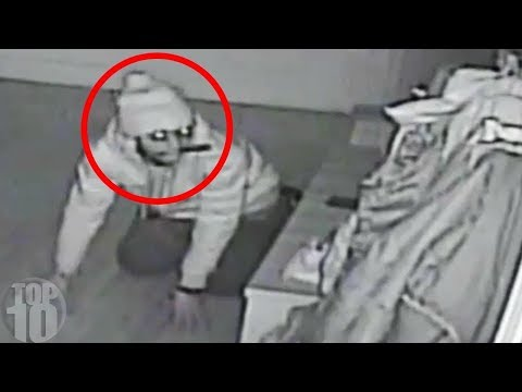 10 Weird Things Caught on Security Cameras