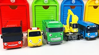 Best Toddler Learning Cars Trucks Colors for Kids #1 Teaching Children Colours Tayo the Little Bus