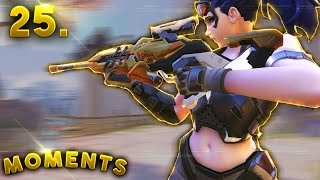 CRAZY WIDOW PREDICTION..!! | Overwatch Daily Moments Ep. 25 (Funny and Random Moments)