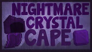 Growtopia - Nightmare Crystal Cape
