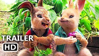 PЕTER RABBІT Trailer # 3 (2018) Margot Robbie, Daisy Ridley Animation Movie HD