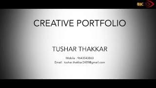 graphic designer showreel