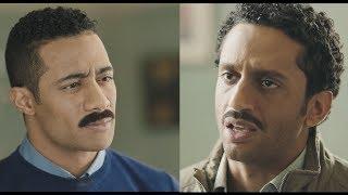 زين يعاقب اخوه طه علي دخول مخدرات بيت القناوي - مسلسل نسر الصعيد - محمد رمضان