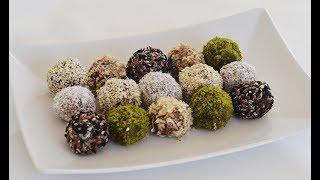 Healthy & Tasty Vegan Date Truffles Recipe