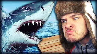 PSYCHO SHARK ATTACK! | Raft