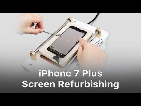 Xxx Mp4 Fresh Tutorial Of IPhone 7 Plus Cracked Screen Refurbishing 3gp Sex
