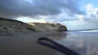 SUBIDA DUNA DE CARAUBA LITORAL NORTE 05/01/2012