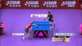 2016 World Championships Highlights: Maharu Yoshimura vs Liam Pitchford