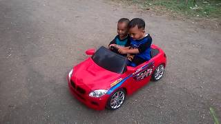 Test Mobil Aki Sedan Balap