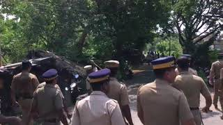 Police attack in kerala against asifa