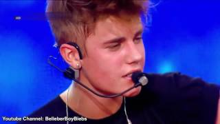 Justin Bieber -- One Time Acoustic -- MTV World Stage Live In Malaysia