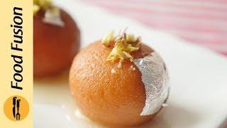 Gulab Jamun with Milk Powder Recipe By Food Fusion