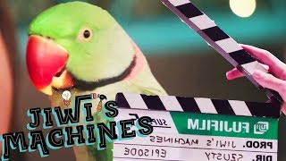 How To Get A Parrot Eat A Grape! | Jiwi's Machines Ep 3 | Behind The Scenes