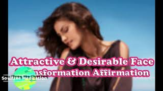 ATTRACTIVE DESIRABLE SEDUCTIVE BEAUTIFUL FACE Subliminal Affirmations Meditation 美しい顔 る潜在意識の書き換え