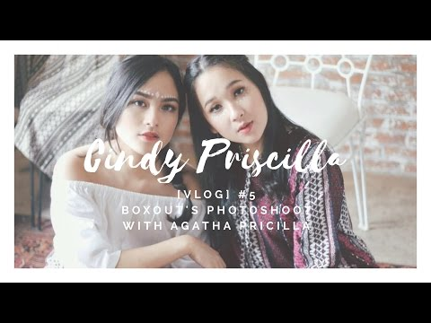 [VLOG] #5 Boxout Photoshoot with Agatha Pricilla - Cindy Priscilla