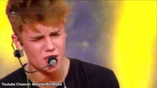 Justin Bieber   Die In Your Arms Acoustic   MTV World Stage Live High Definition HIGH
